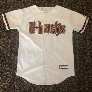 Majestic AZ Diamondbacks Jersey Size 10/12 Medium
